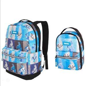 Fortnite Backpack & Lunch Bag